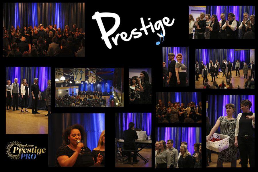 10 jarig jubileum feest Theaterzanggroep Prestige